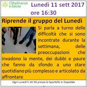 20170911 GruppoLunedì